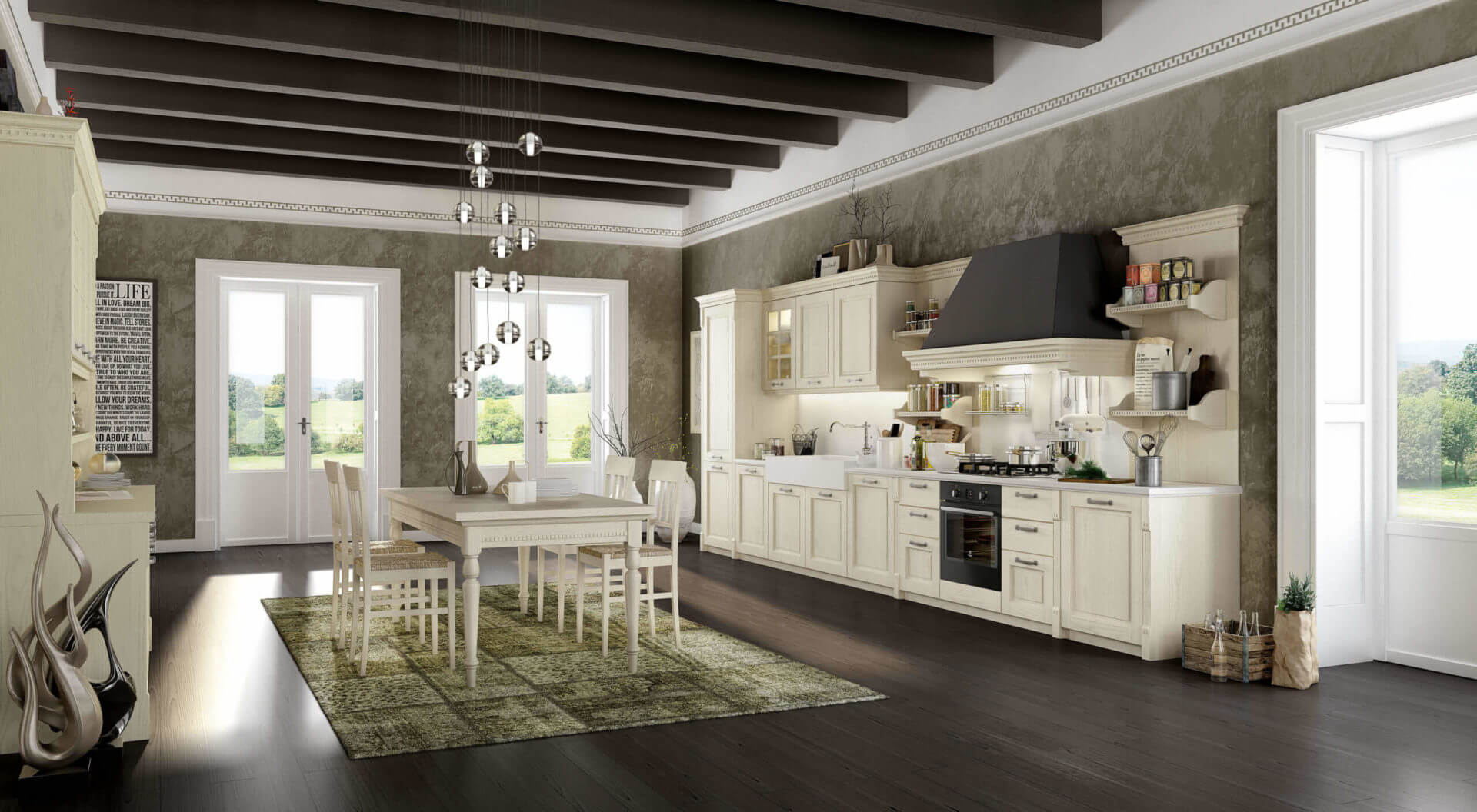 cucina classica lineare padova
