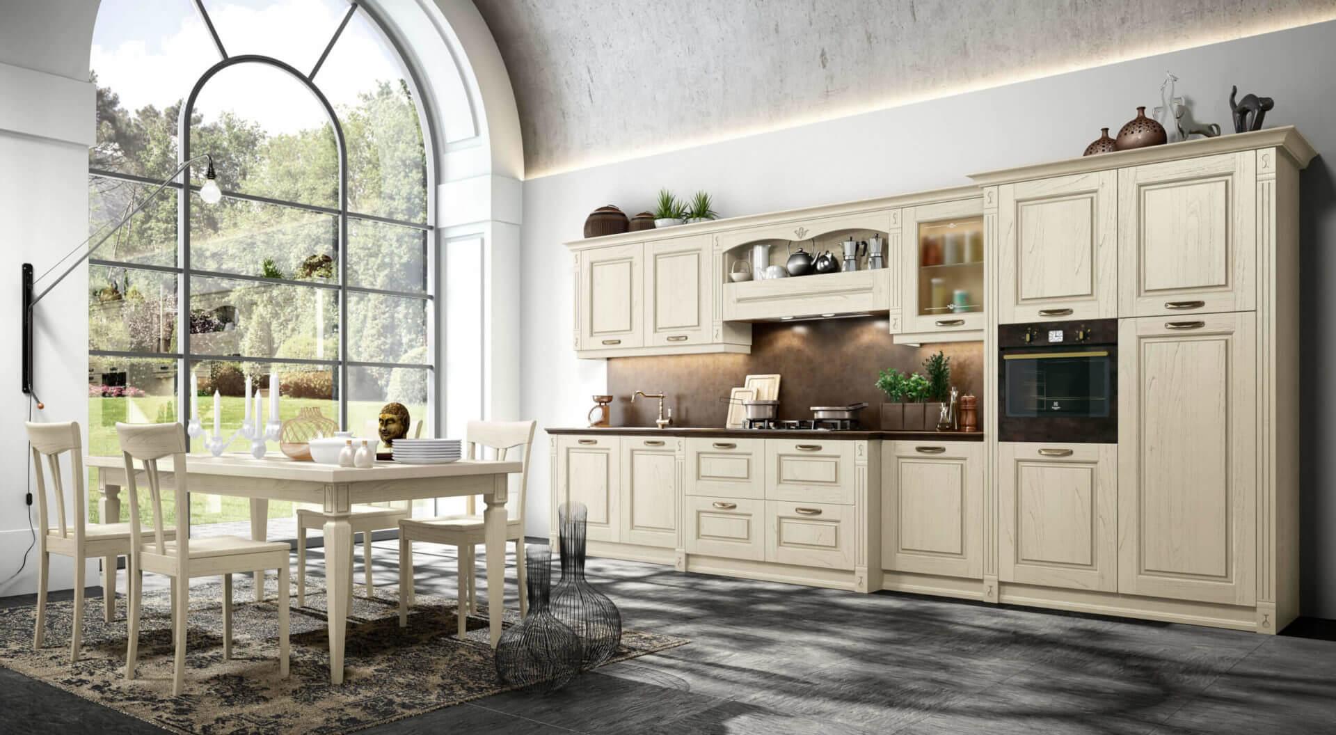 cucina legno massello padova