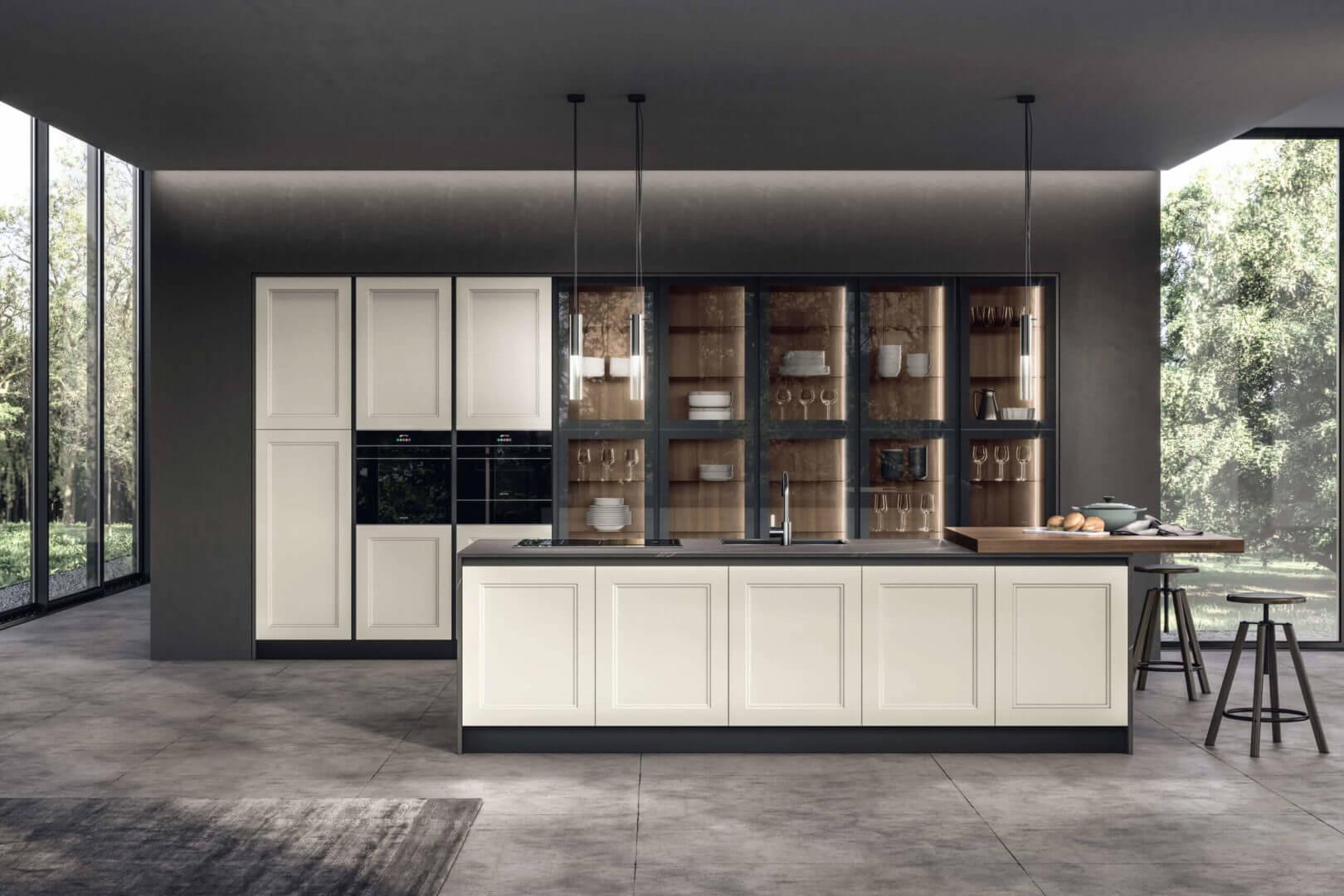 cucina minimal design padova