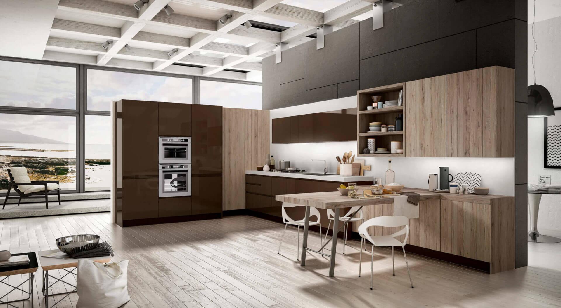 cucina moderna ad angolo padova