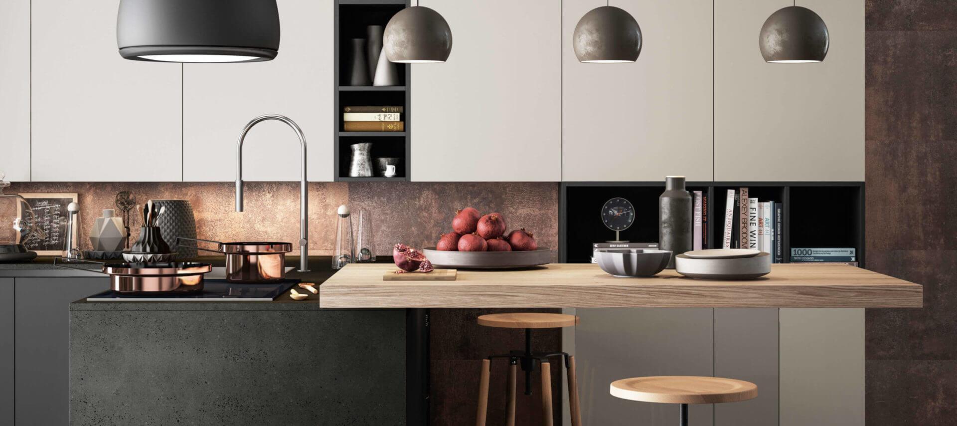 cucina moderna laccata su misura carraro mobili