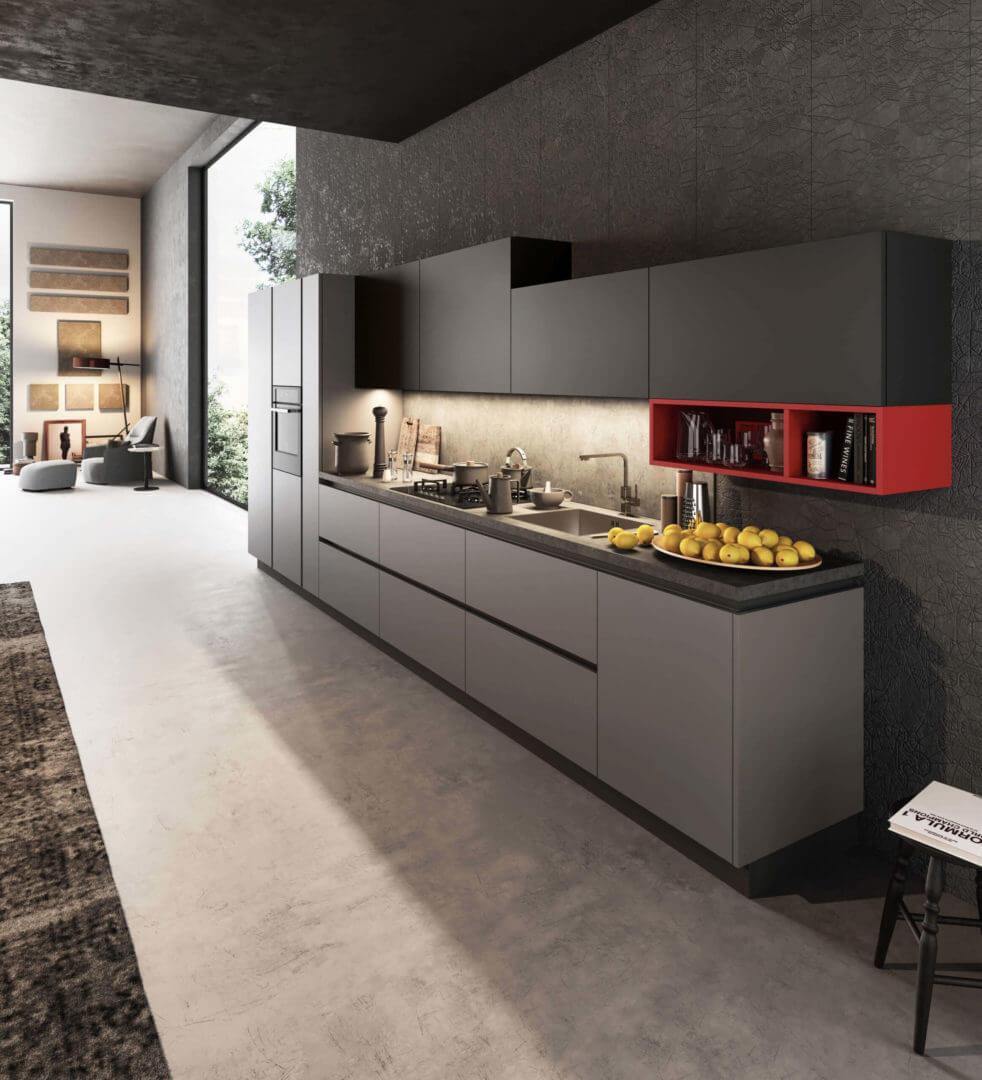 cucina moderna lineare padova