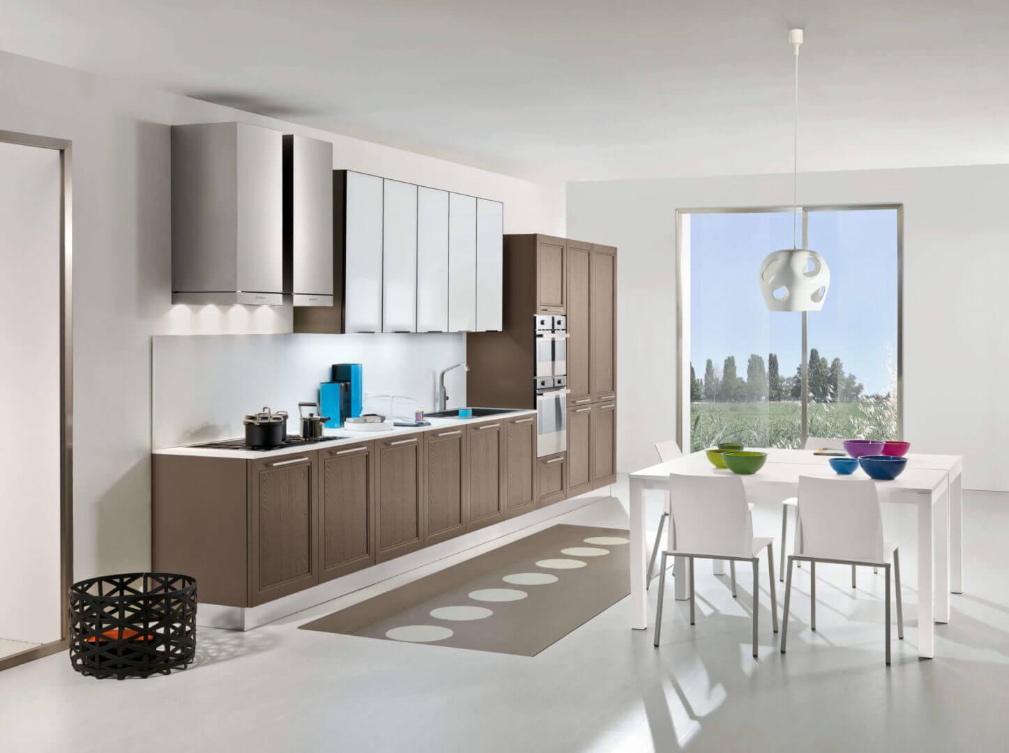 cucina in legno moderno padova