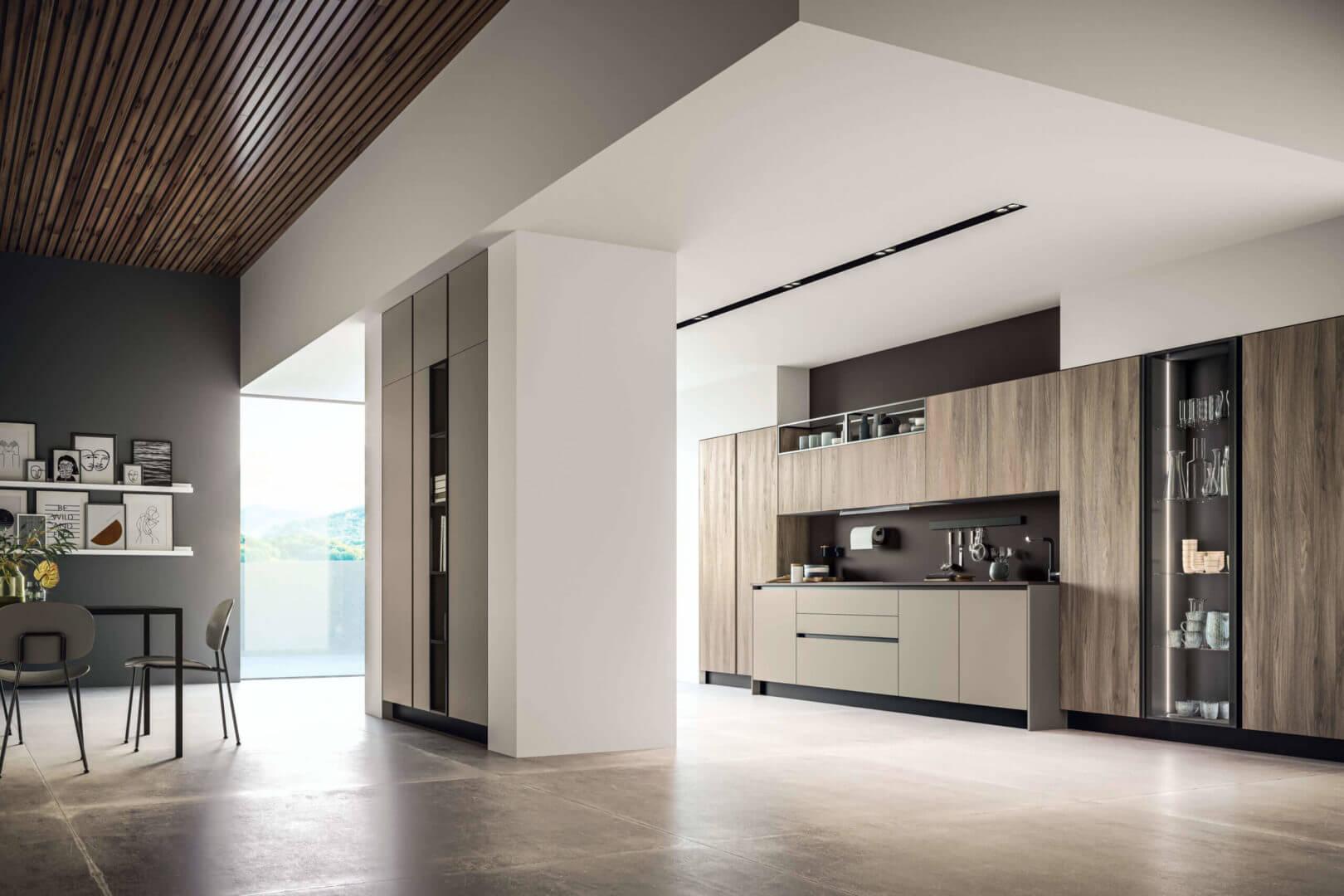 cucina moderna legno offerta padova