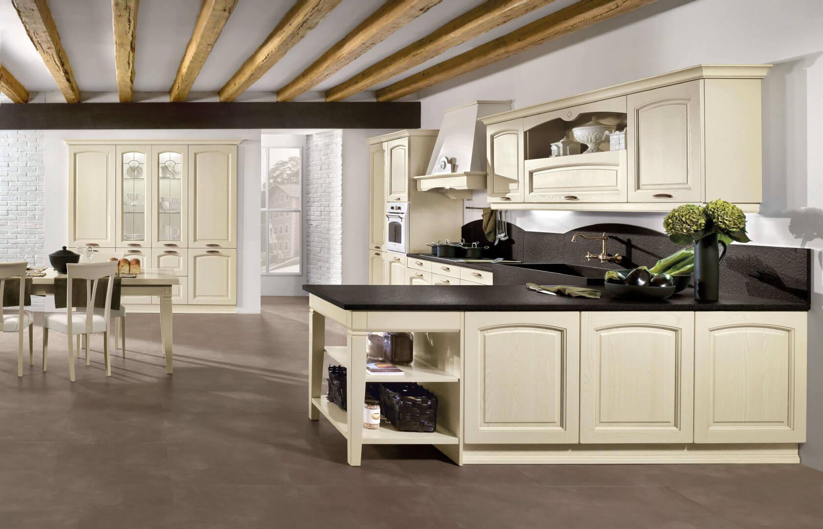 cucina in legno massello padova