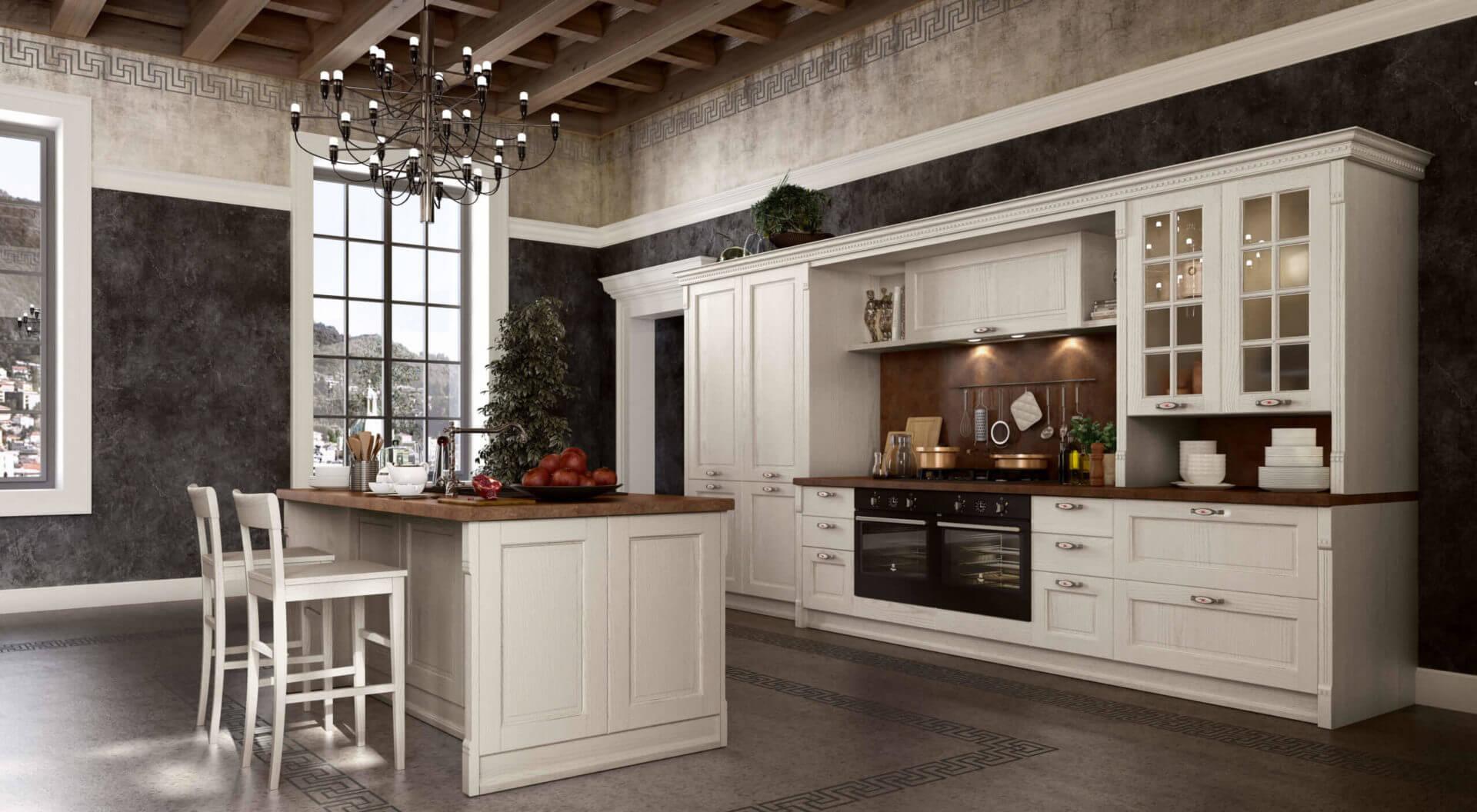 cucina rustica classica padova