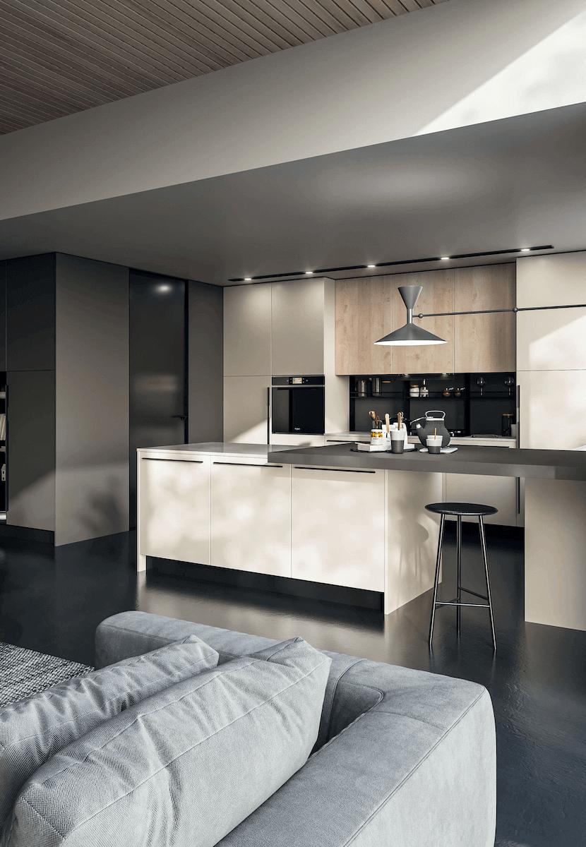 cucina moderna laccata padova