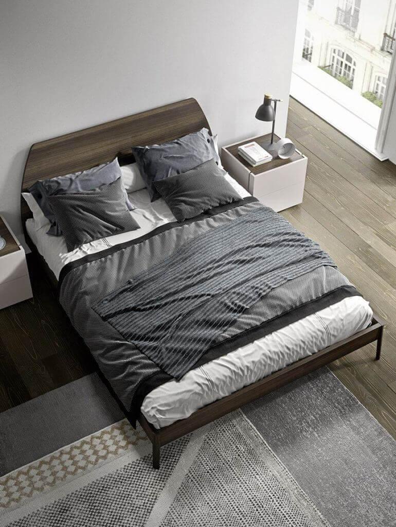 camera da letto legno design