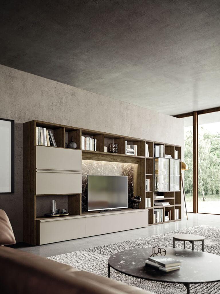 pareti attrezzate soggiorno padova