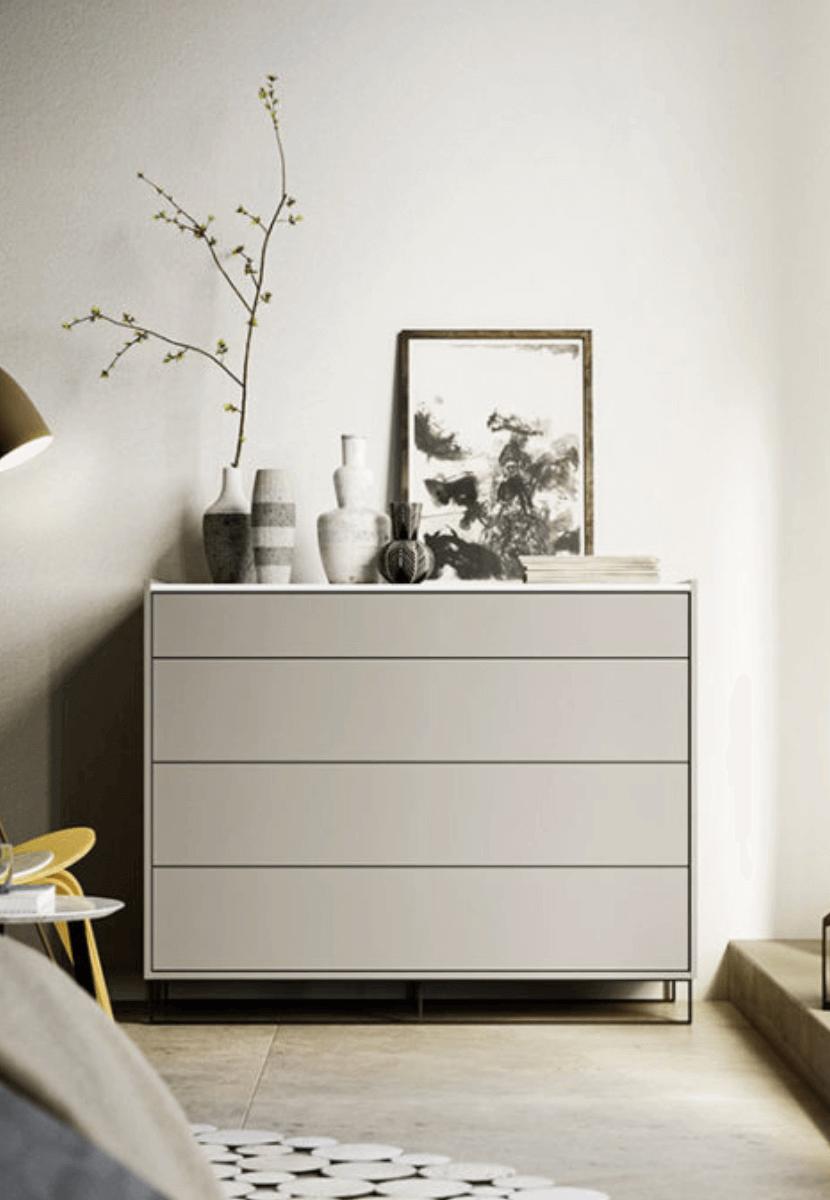 cassettiera legno bianco padova
