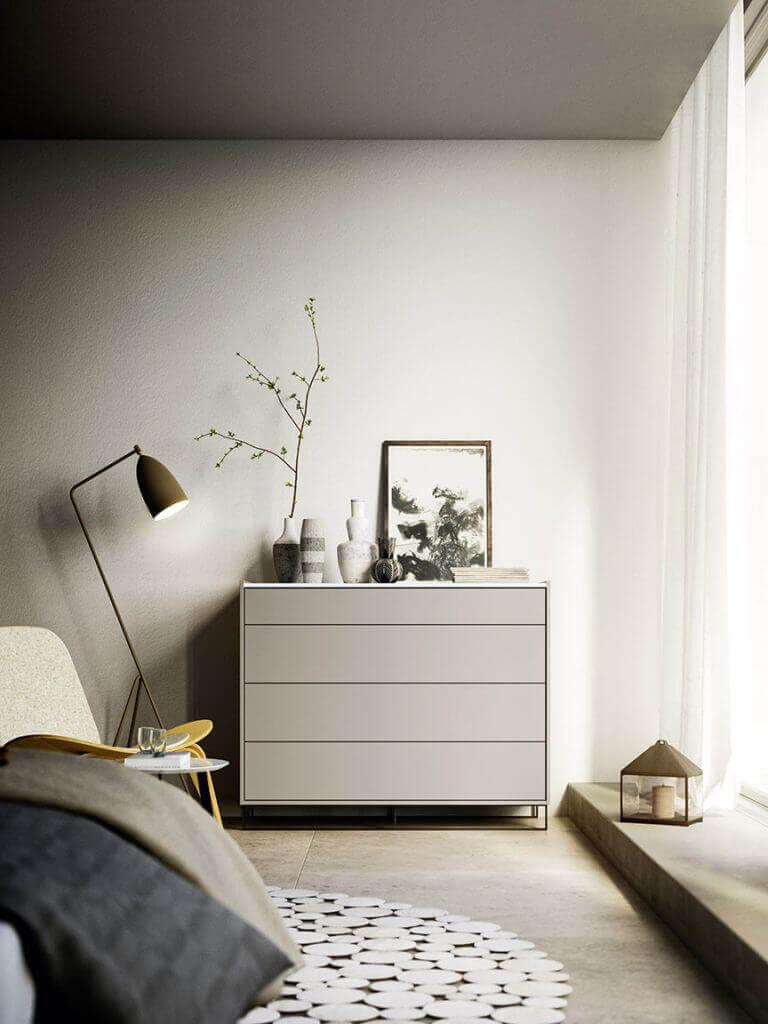 cassettiere legno chiaro padova