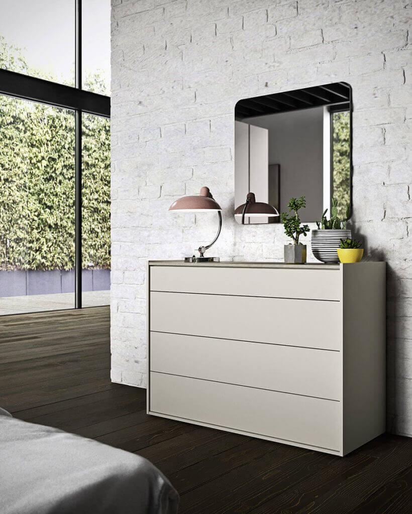 cassettiera legno chiaro padova